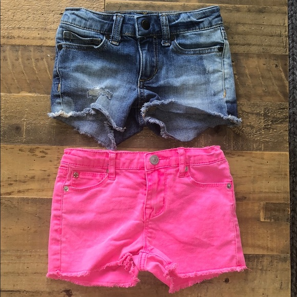 Joe's Jeans Other - Joes and Hudson Shorts Lot 4 4T